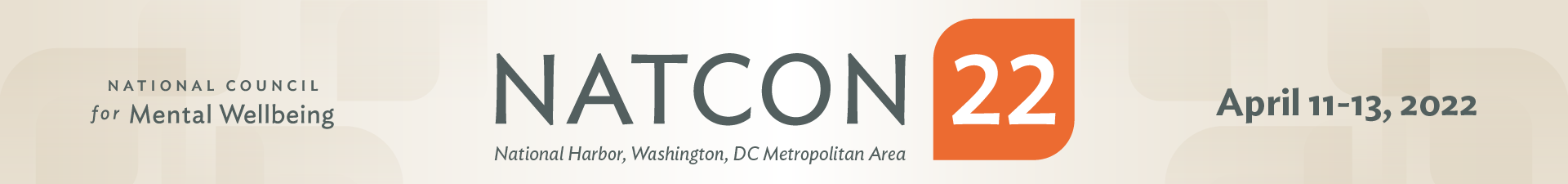 NatCon22 Event Banner