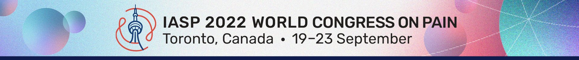 IASP 2022 World Congress on Pain-Topical Workshops Event Banner