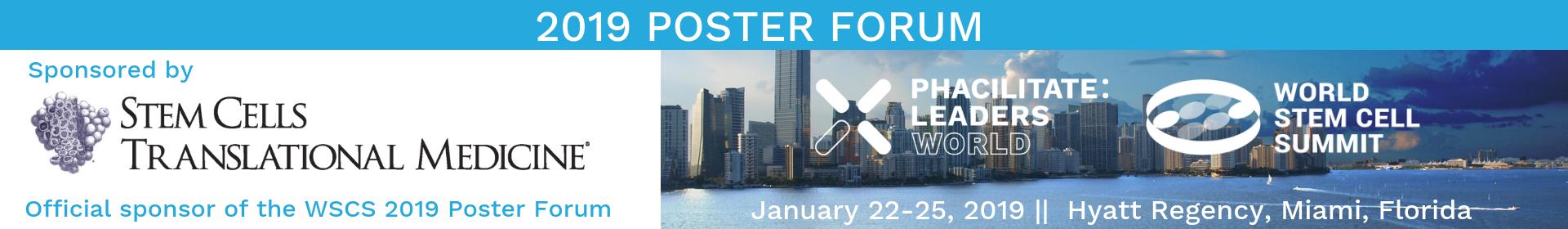 World Stem Cell Summit 2019 Event Banner