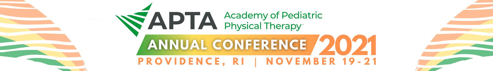 APTA Pediatrics Annual Conference 2021 Event Banner