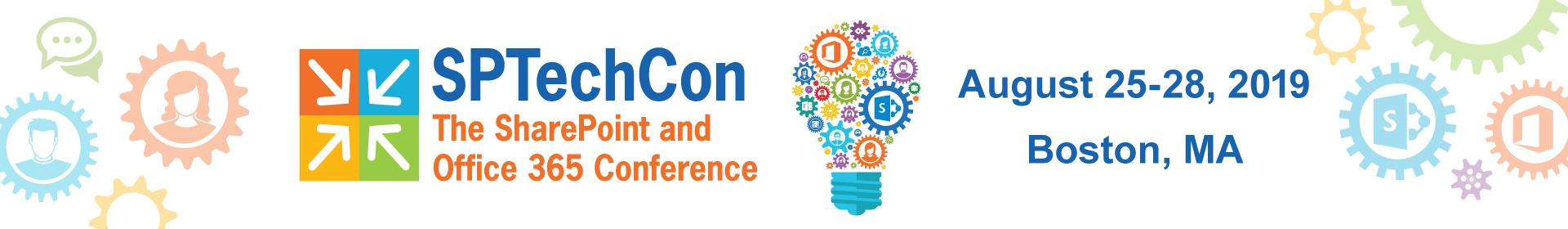 SPTechCon East 2019 Event Banner