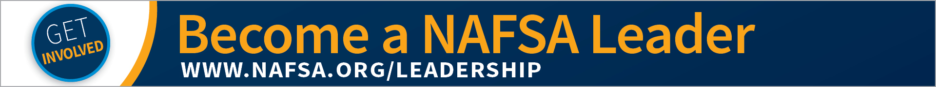 NAFSA Elected-Appointed Volunteer Leadership Positions  Event Banner
