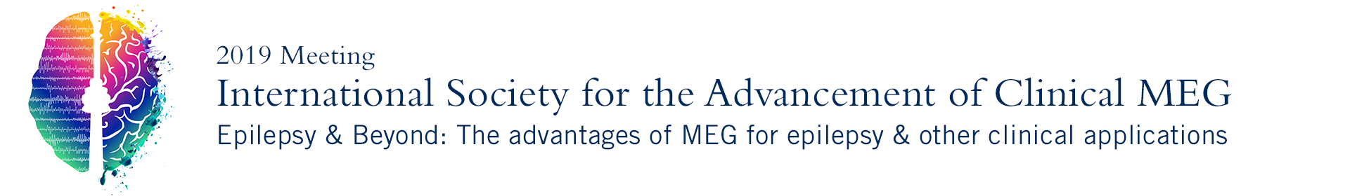 The Meeting of the International Society for the Advancement of Clinical MEG Event Banner