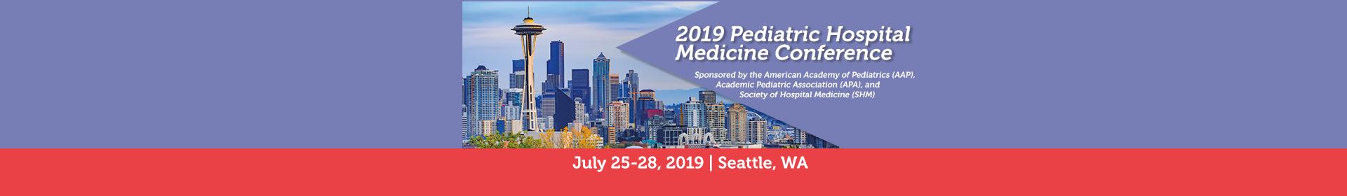 Pediatric Hospital Medicine Conference Event Banner