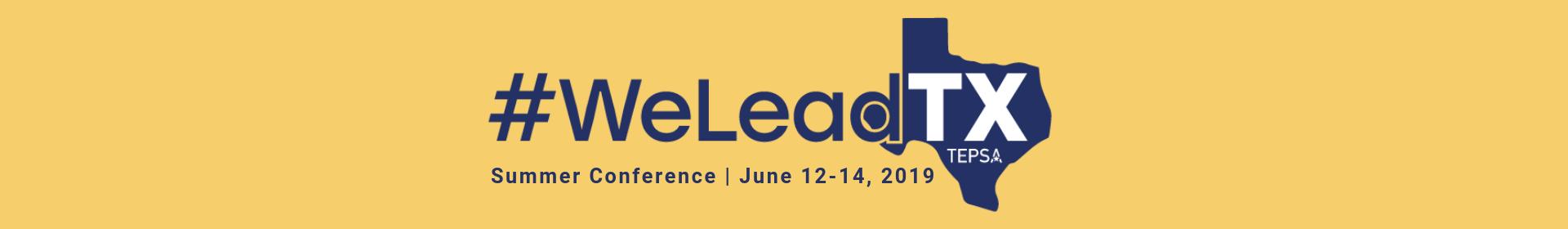 TEPSA Summer Conference Event Banner