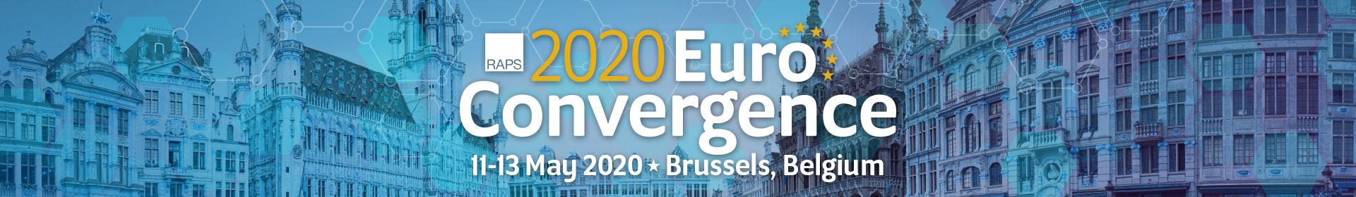 RAPS Regulatory Conference - Europe 2020 Event Banner