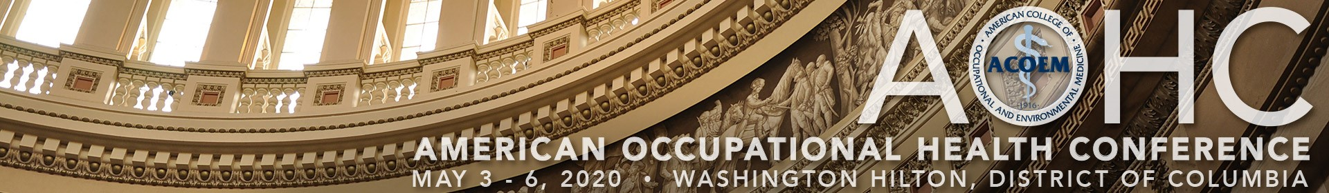 AOHC 2020 Event Banner