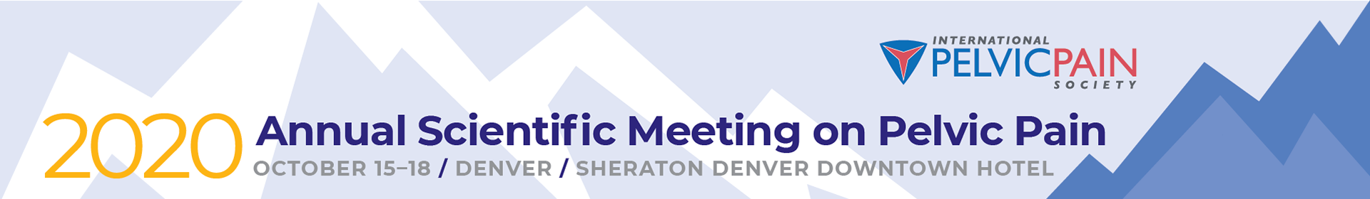2020 Annual Scientific Meeting on Pelvic Pain Event Banner