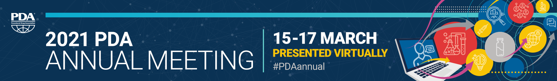 2021 PDA Annual Meeting Event Banner