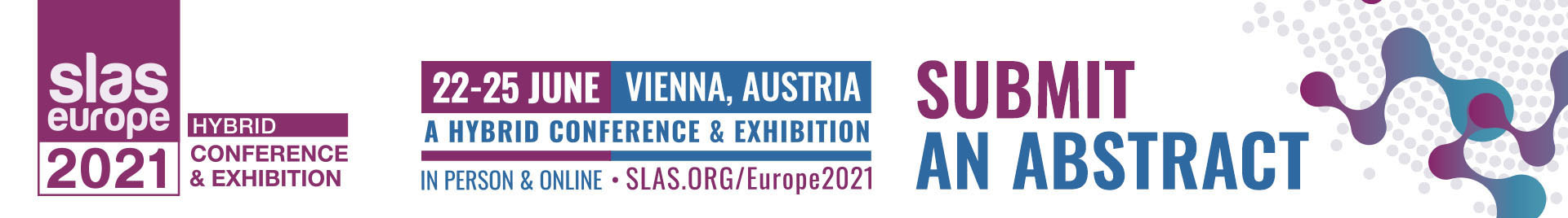 SLAS Europe 2021 Event Event Banner