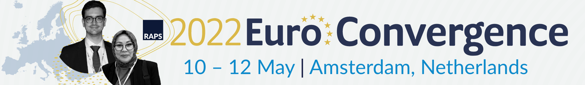 RAPS Euro Convergence 2022 Event Banner