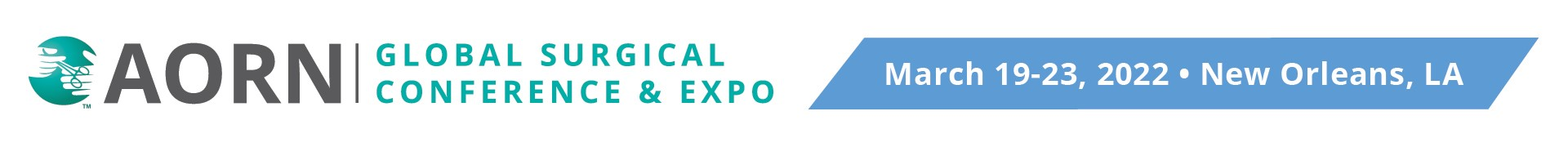 AORN Global Surgical Conference & Expo 2022 Event Banner
