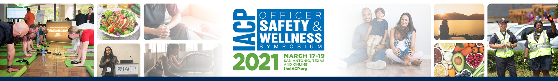 Officer Safety and Wellness Symposium 2021 Event Banner