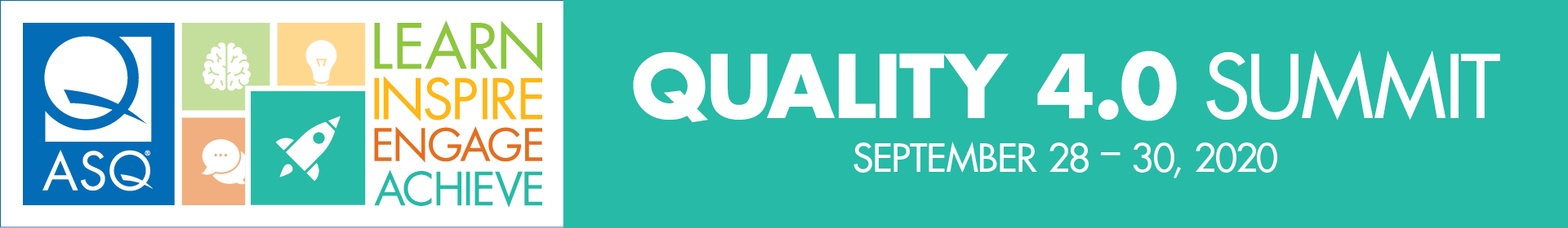 2020 Quality 4.0 Virtual Summit Event Banner