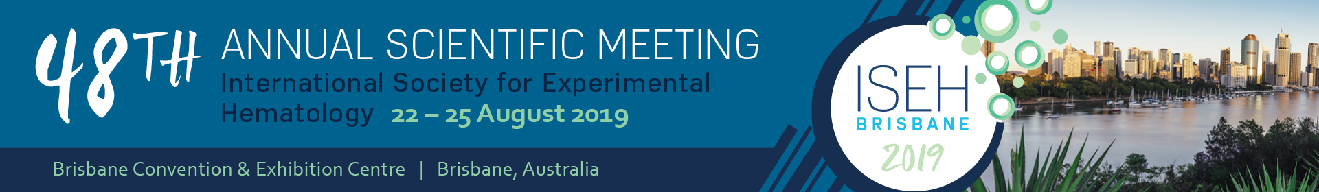 ISEH 2019 Event Banner