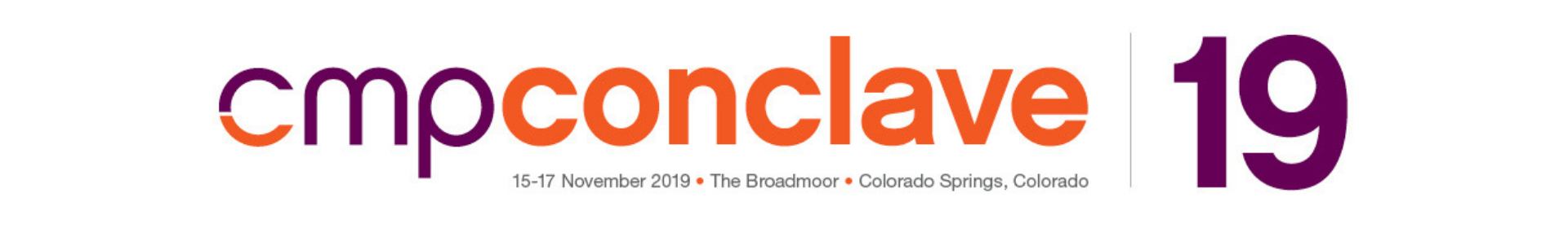 2019 CMP Conclave Event Banner
