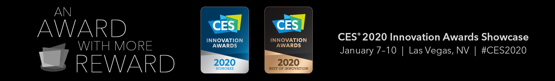 CES 2020 Innovation Awards Event Banner