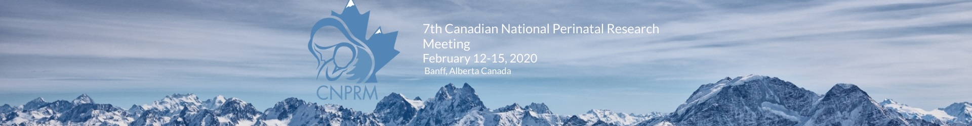 2020 7th Canadian National Perinatal Research Meeting (CNPRM) Event Banner