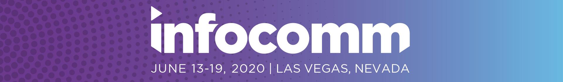 InfoComm 2020 Event Banner