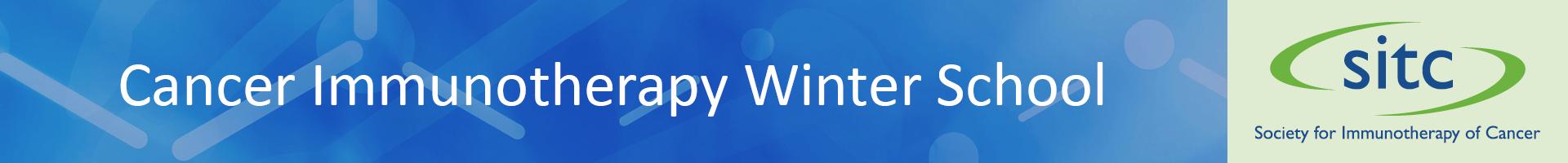 Cancer Immunotherapy Winter School  Event Banner