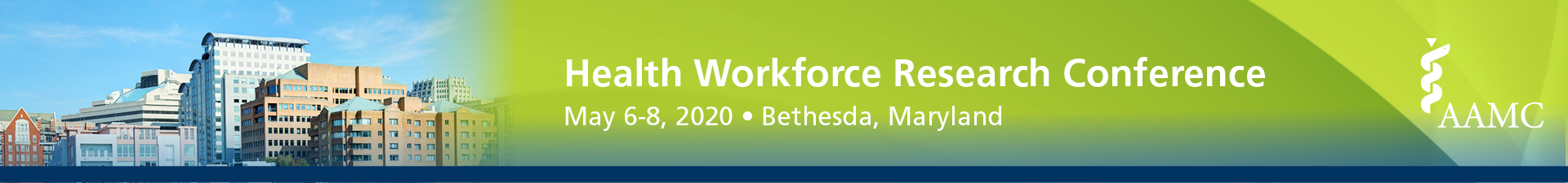 The 16th Annual AAMC Health Workforce Research Conference Event Banner