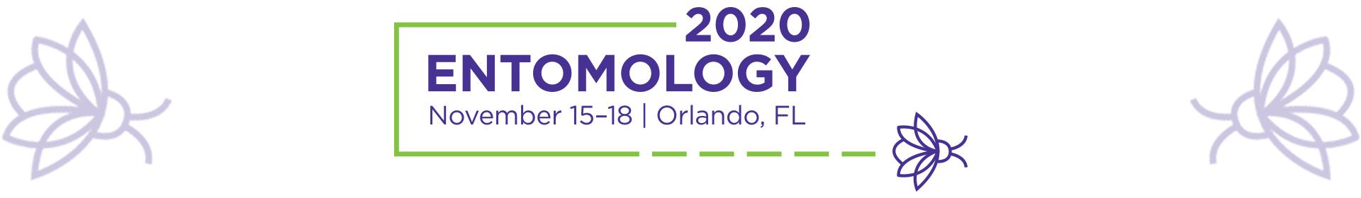 Entomology 2020 Event Banner