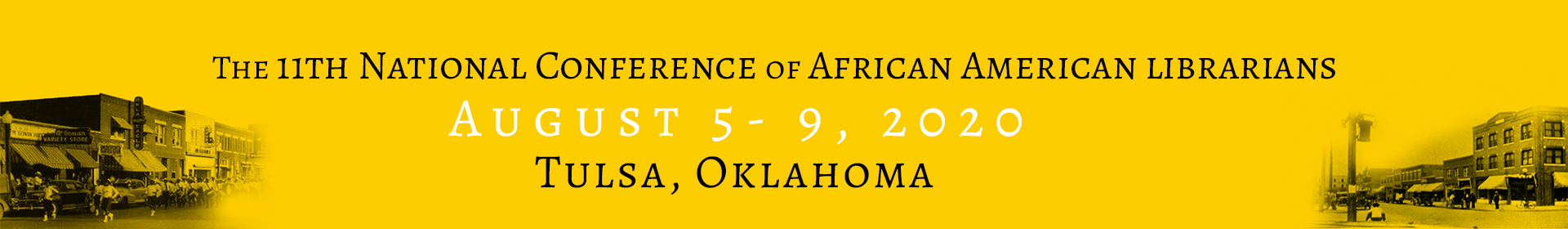 National Conference of African American Librarians XI  Event Banner