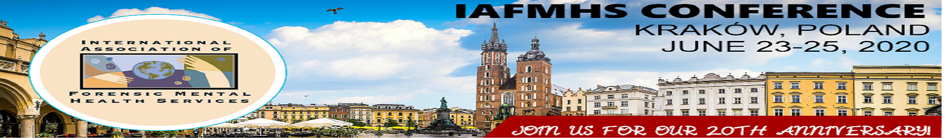 IAFMHS 2020 Event Banner