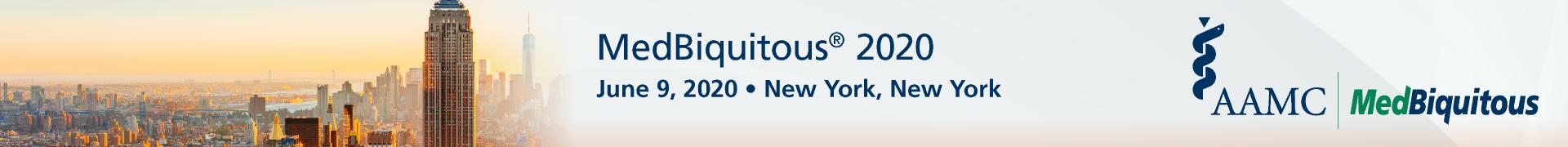 MedBiquitous 2020 Event Banner