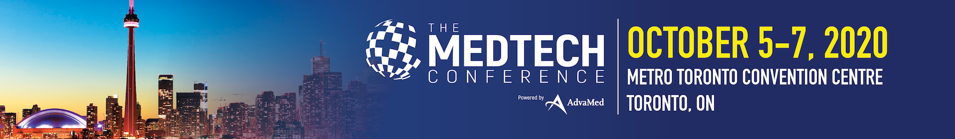 The MedTech Conference Event Banner
