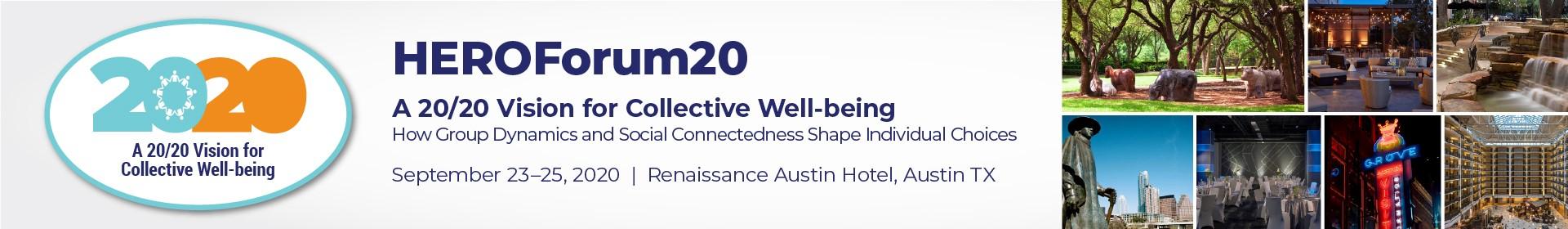 HEROForum20 Event Banner