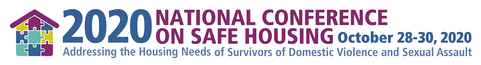 2020 National Conference on Safe Housing Event Banner