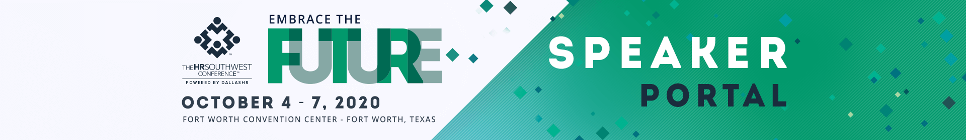 The HRSouthwest Conference Event Banner