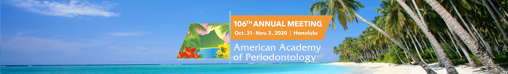 106th Annual Meeting Event Banner