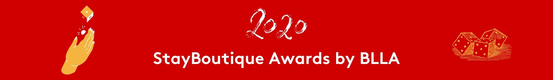 2020 StayBoutique Awards by BLLA Event Banner