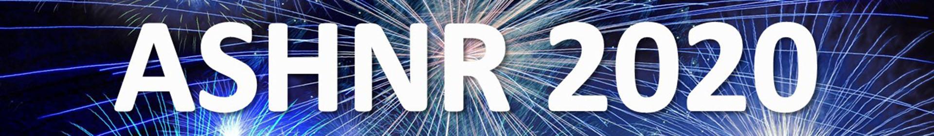 ASHNR 2020 Event Banner