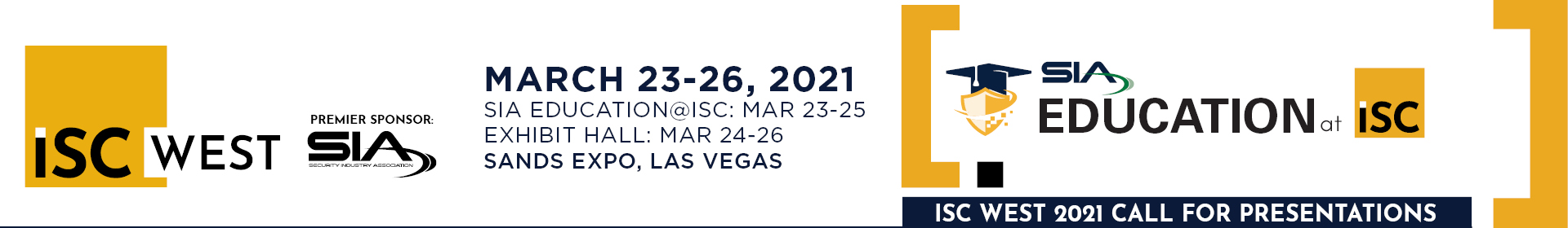 ISC West 2021 Event Banner