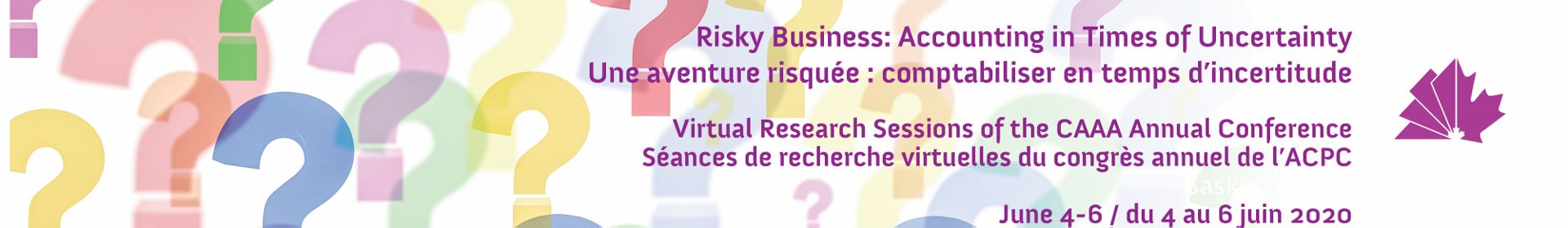 2020 CAAA virtual research sessions / Séances de recherce virtuelles 2020 de l'ACPC Event Banner