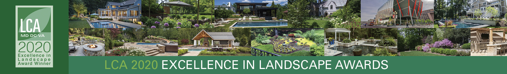 2020 LCA Awards Program <br><br>LCA Mission: To advance the success of members and provide a community for landscape industry professionals. Event Banner