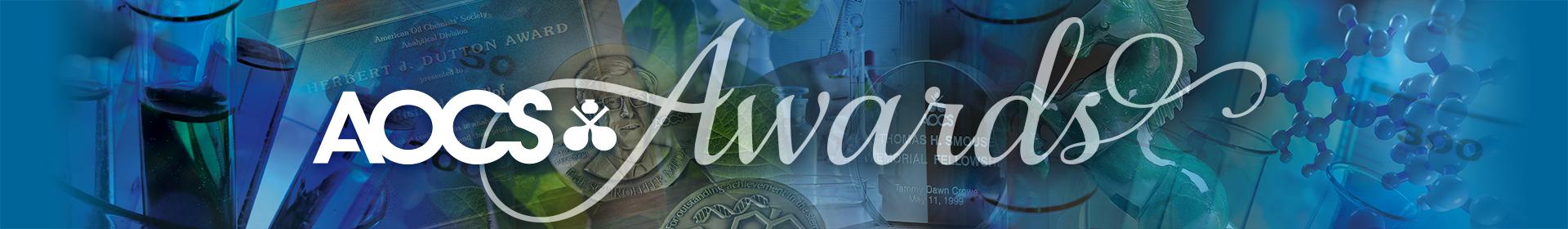2022 AOCS Awards Event Banner