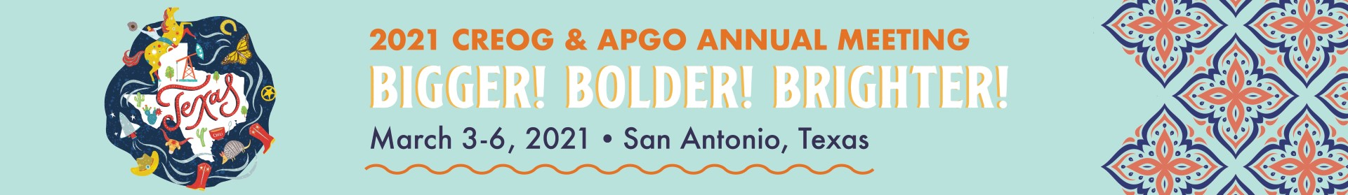 2021 CREOG & APGO Annual Meeting Event Banner