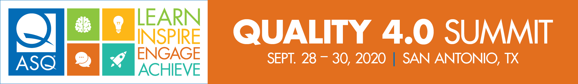 2020 Quality 4.0 Summit Event Banner