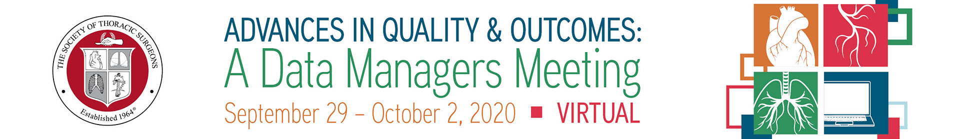 Advances in Quality & Outcomes: A Data Managers Meeting Event Banner
