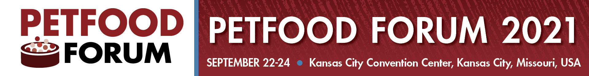 Pet Food Forum 2021 Event Banner