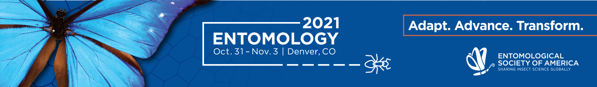 Entomology 2021 - Papers and Posters Event Banner