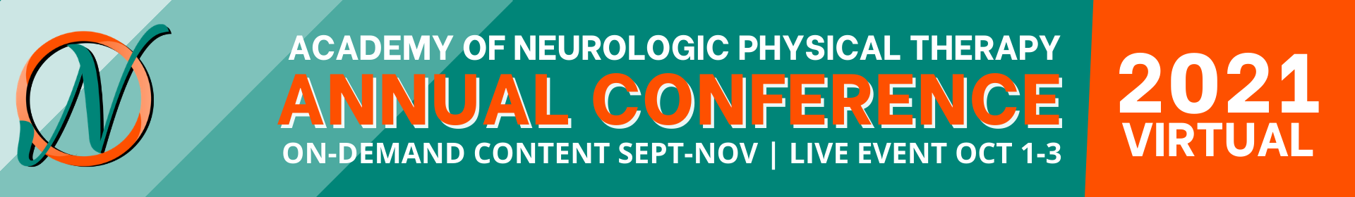 Academy of Neurologic Physical Therapy Annual Conference 2021 Event Banner