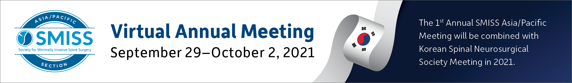 SMISS Asia/Pacific 2021 Annual Meeting Event Banner