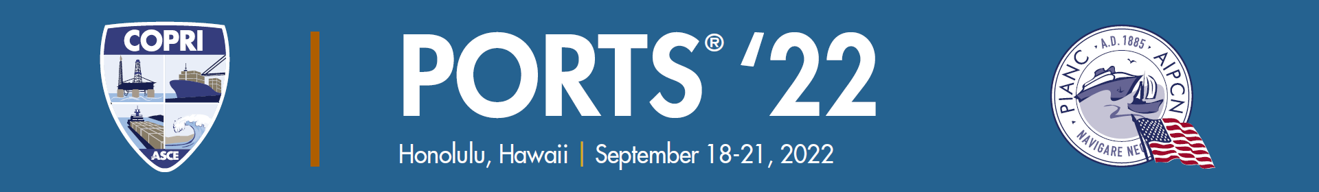 PORTS® '22 Event Banner