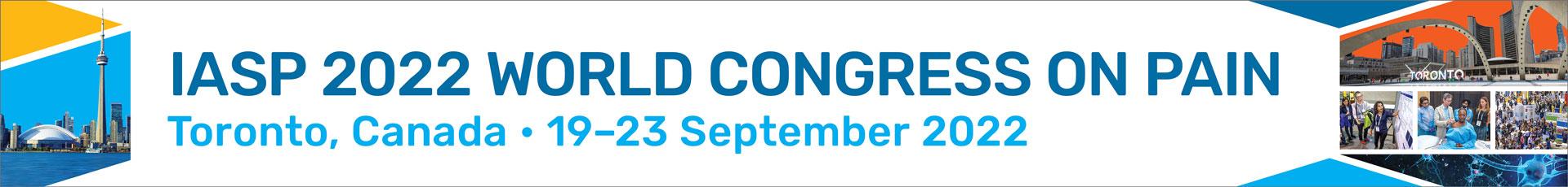 2022 IASP World Congress on Pain Event Banner