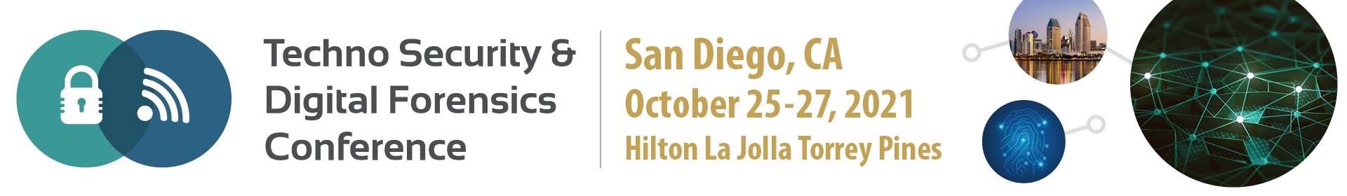 Techno Security & Digital Forensics Conference - California Event Banner